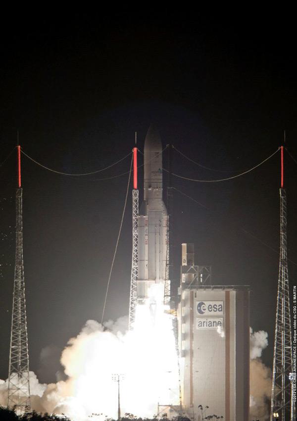 イギリスの軍事通信衛星「スカイネット6A」エアバスに発注