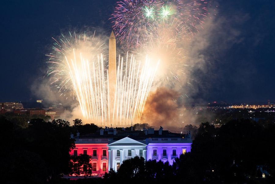 アメリカ独立記念日 各地で祝賀飛行などのイベントを開催
