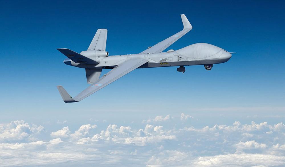イギリス国防省 無人偵察機プロテクターの第1期分3機を発注