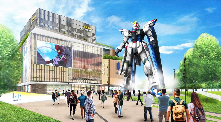 実物大ガンダム立像が2021年に海外進出 上海で「フリーダムガンダム」展示