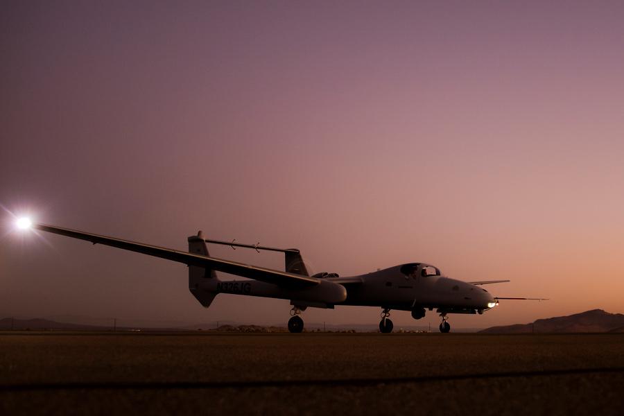 ノースロップ・グラマン 偵察機ファイアバードの複合ミッション試験を完了
