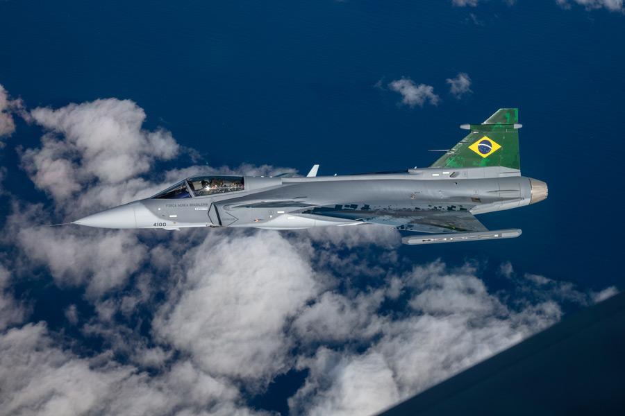 サーブがブラジルにグリペン機体工場開設 現地での生産体制を確立