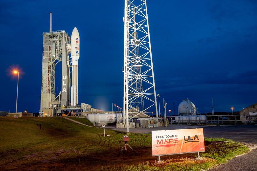 NASA火星探査機「MARS 2020」日本時間の今夜打ち上げ ネットで20時から生中継