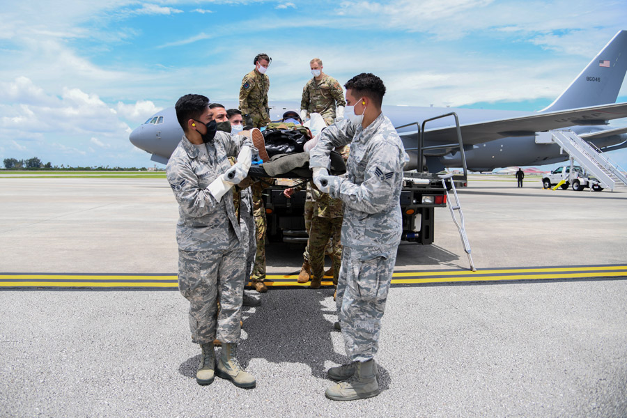 アメリカ空軍KC-46空中給油機 初の患者搬送任務を実施 | おたくま経済新聞