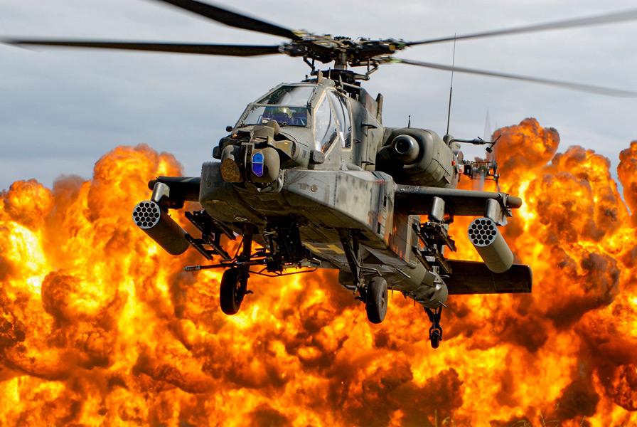 攻撃ヘリコプターAH-64アパッチが生産2500機を達成