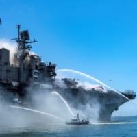 アメリカ強襲揚陸艦ボノム・リシャールで火災 2018年から…