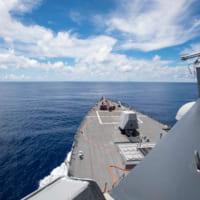 アメリカ駆逐艦ラルフ・ジョンソン 南沙諸島で「航行の自由作…
