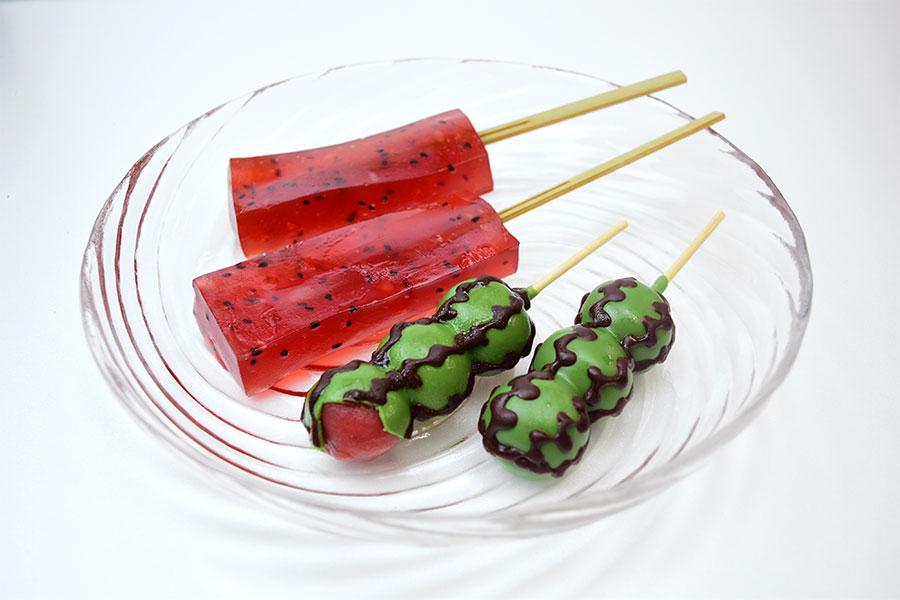 まってた!毎夏SNSを賑わせる丸八製菓の「すいか団子」と「西瓜わらび餅」が2020年も販売開始