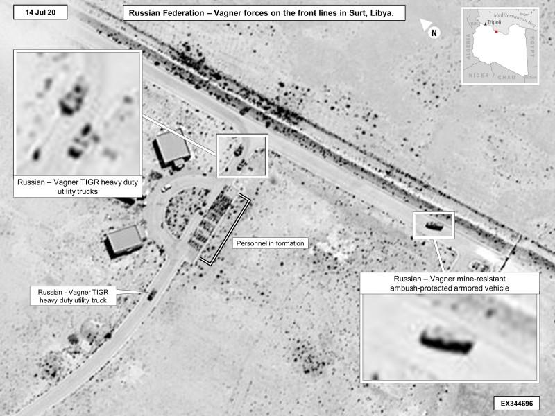 ロシアがリビアで軍事活動活発化 傘下の民間軍事会社を活用