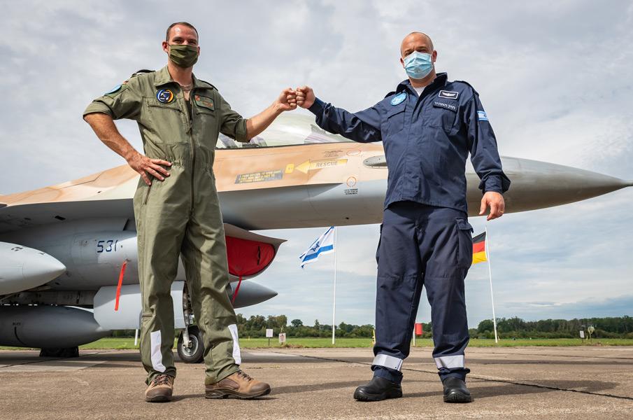 イスラエル空軍 ホロコーストの歴史を乗り越えドイツでの共同訓練を終了