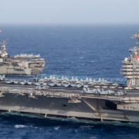 アメリカ最新空母フォード 艦載機部隊がCVW-8に決定