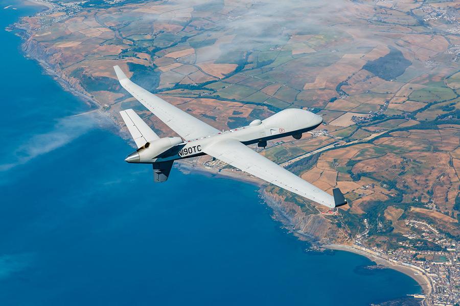 イギリスとベルギー 無人偵察機MQ-9B運用の相互協力協定を締結