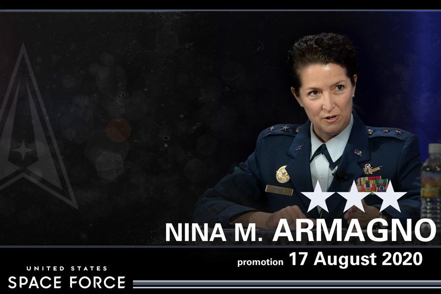 アメリカ宇宙軍に初の女性中将が誕生
