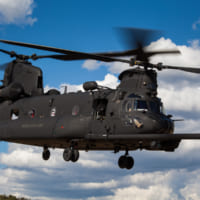 アメリカ陸軍特殊部隊 新たな作戦ヘリMH-47GブロックI…