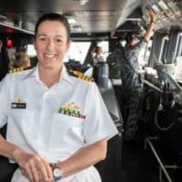 海上自衛隊参加のRIMPAC任務部隊にオーストラリアの女性…