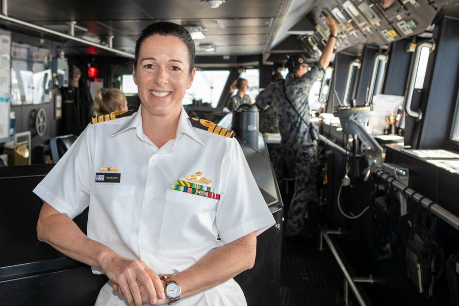 海上自衛隊参加のRIMPAC任務部隊にオーストラリアの女性司令官就任 アメリカ以外で初