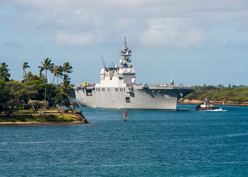 RIMPAC2020始まる 海上自衛隊から護衛艦いせと護衛艦あしがらが参加
