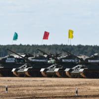 パンツァー・フォー!ロシアで「リアル戦車道」戦車バイアスロ…