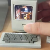 初代Macintoshの中の住人は? マックユーザー垂涎の…
