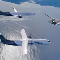 エアバス 水素燃料で二酸化炭素を排出しない「15年後の旅客機…