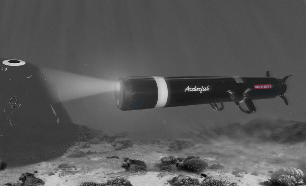 アメリカ海軍 無人機雷処理システム「アーチャーフィッシュ」を追加発注