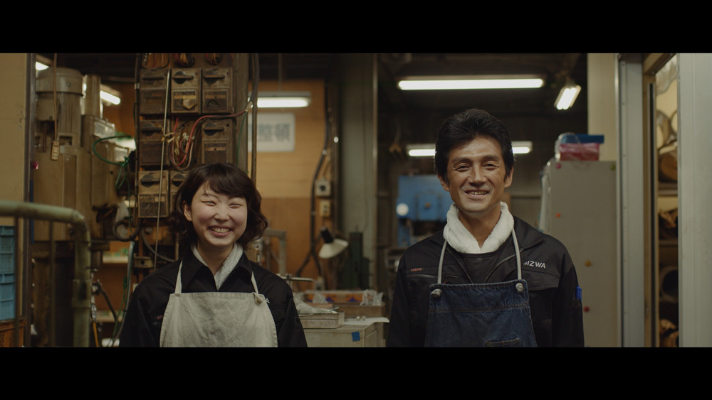 「BOSS」シリーズ新商品「スピリットオブボス」が町工場とコラボ ドキュメンタリータッチのWEB動画2篇公開
