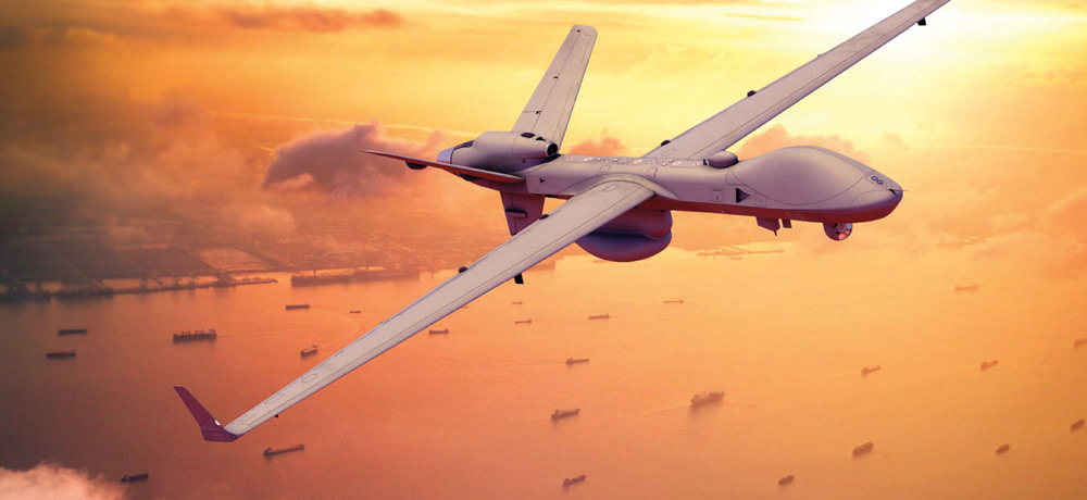 海上保安庁も興味の無人偵察機シーガーディアン 初の洋上試験飛行を実施