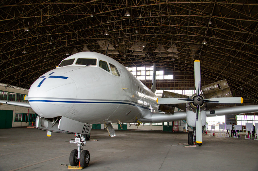 YS-11量産初号機「ひとまる」公開プロジェクト 最後の大規模組み立てを生配信