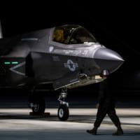 アメリカ海兵隊F-35Bがイギリスに展開 空母クイーン・エリ…