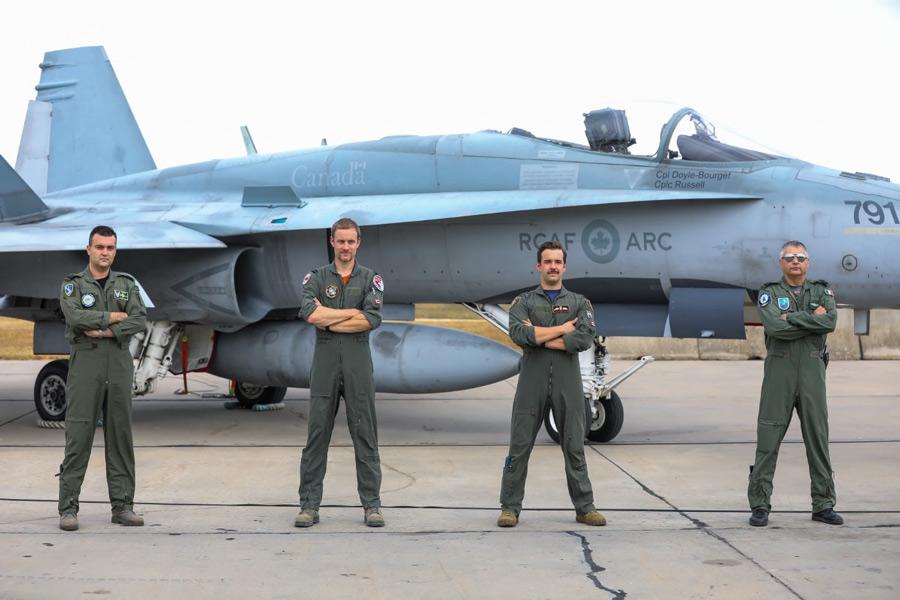 カナダ空軍戦闘機部隊 ルーマニアでのNATO防空任務を開始