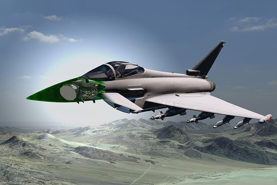 イギリス国防省 ユーロファイター・タイフーンのレーダー刷新計画を発表