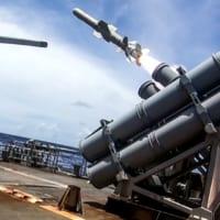 アメリカ4軍共同訓練「バリアント・シールド」退役フリゲートの…