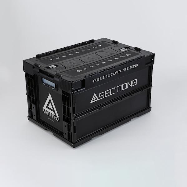 「攻殻機動隊 SAC_2045」の折りたたみコンテナやツールボックスが登場