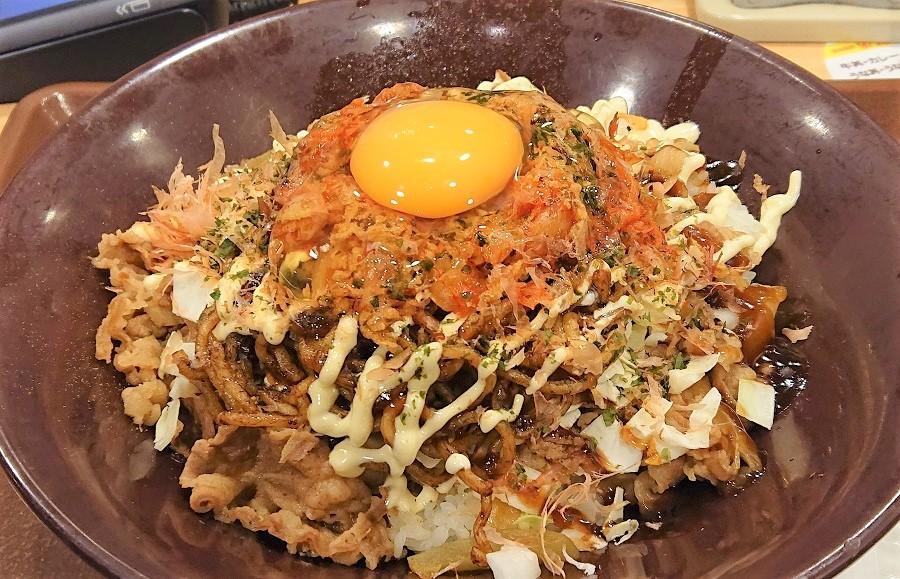 すき家の「お好み牛玉丼 広島Mix」がぶち美味い!ボリューム満点でB級グルメ感たっぷり