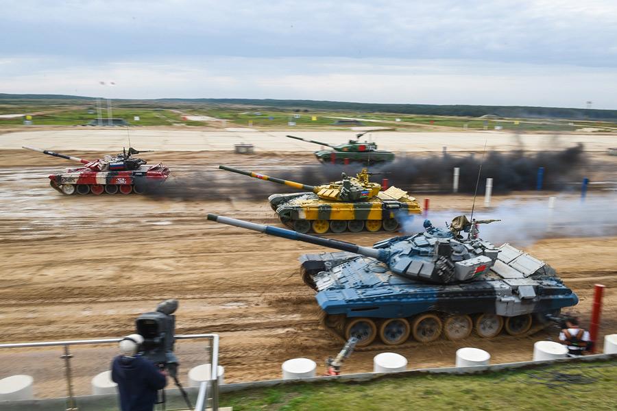 戦車バイアスロン世界選手権2020はロシアが2冠達成 第2部はベトナムが優勝