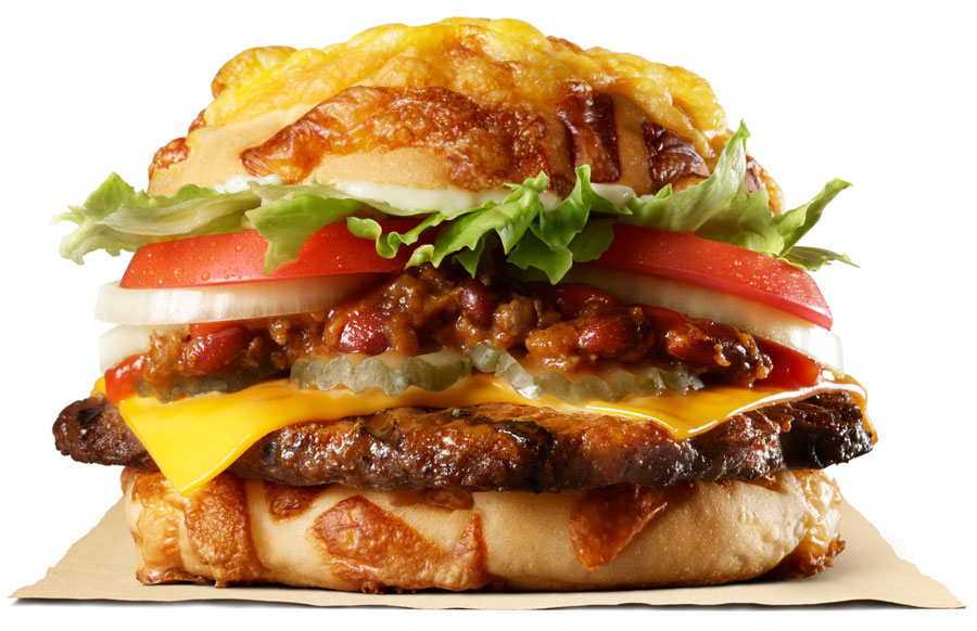 バーガーキング「チリアグリービーフバーガー」発売 チーズバンズを採用