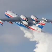 ロシア国営企業 世界の山火事に対応する飛行艇消防隊の組織を…