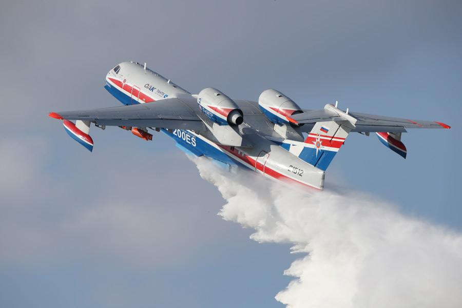 ロシア国営企業 世界の山火事に対応する飛行艇消防隊の組織を提案