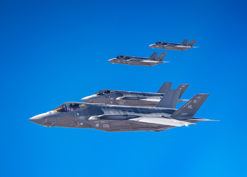 イスラエルとアメリカがF-35同士の共同訓練を実施 8月に続き2回目