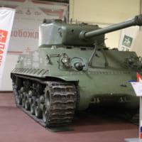ロシアに供与されたM4シャーマン中戦車 撃沈された輸送船か…