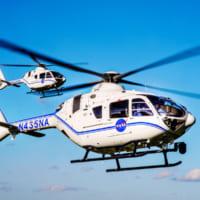 NASAに新ヘリコプターH135到着 JAXA野口宇宙飛行…