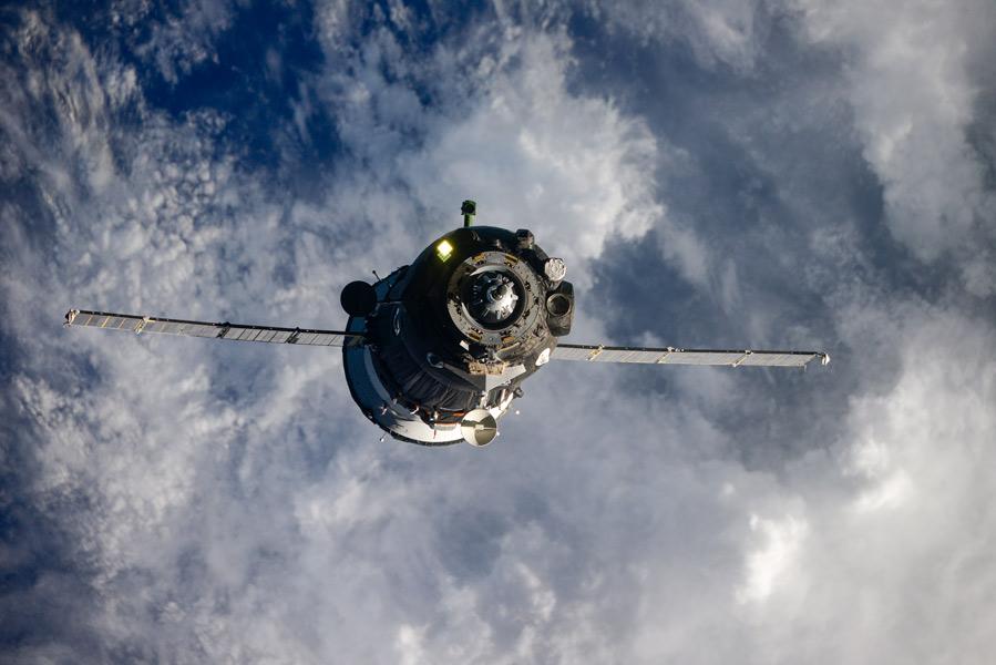 ソユーズMS-17が所要時間3時間3分の最速記録で国際宇宙ステーションに到着