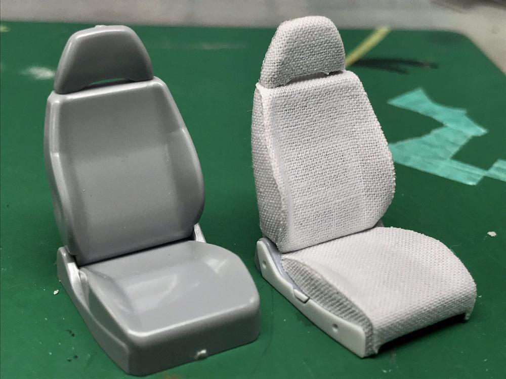 カーモデラ―が「日産S13シルビア」プラモをオリジナルにモデリング シートは質感重視