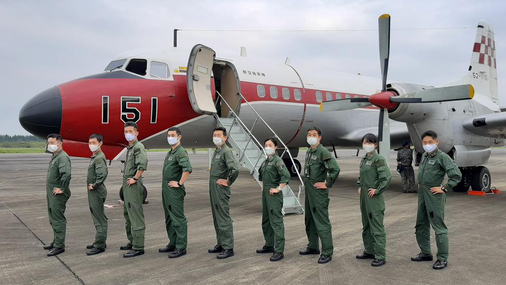 国内最後の現役オリジナルYS-11 航空自衛隊入間基地からフライト生配信