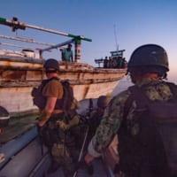 アメリカ駆逐艦 漂流中のイラン民間船に人道支援