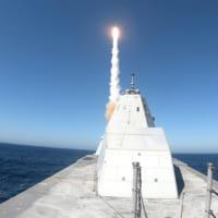 アメリカ駆逐艦ズムウォルト 新型発射システムでSM-2ミサ…
