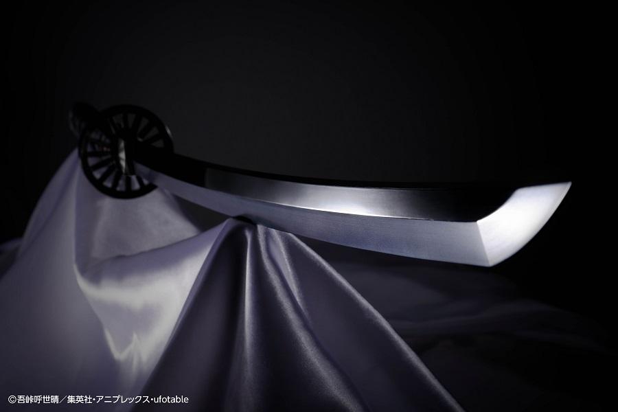 「炭治郎の日輪刀」1/1サイズなりきりアイテム登場 名セリフなど70種以上収録