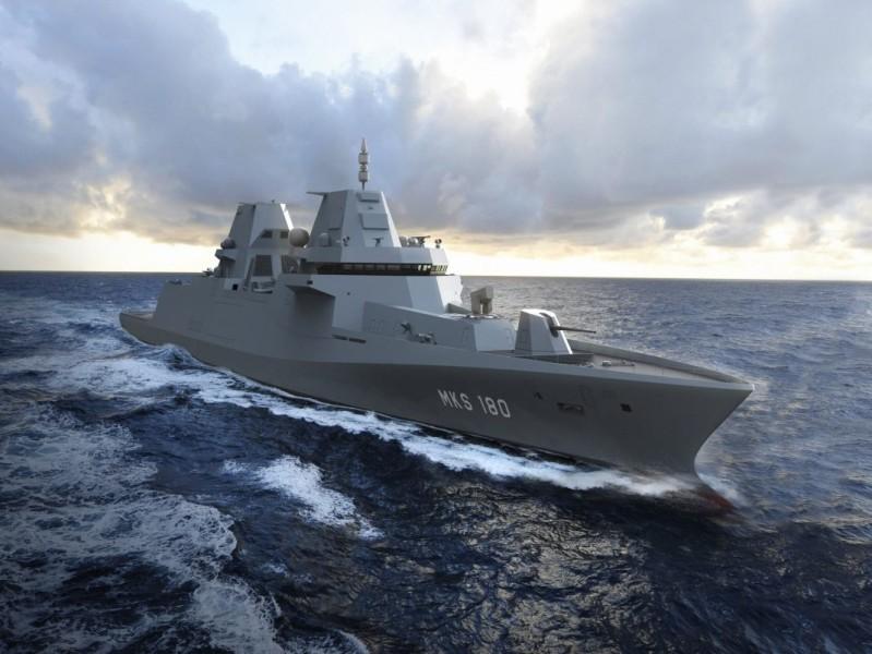 ドイツの新型多目的戦闘艦MKS180 タレス製の戦闘システムを発注