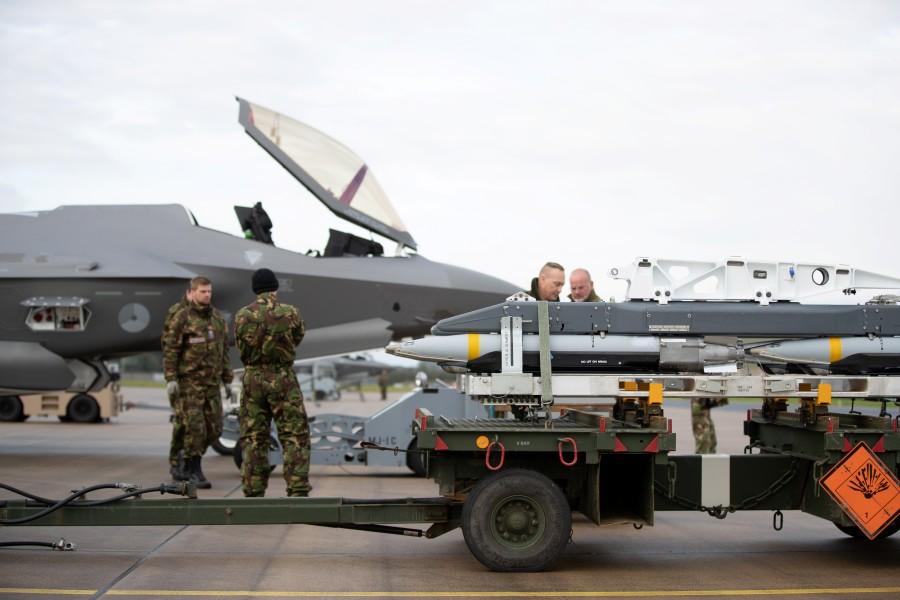 オランダ空軍F-35 戦力化に向け機動展開訓練を実施