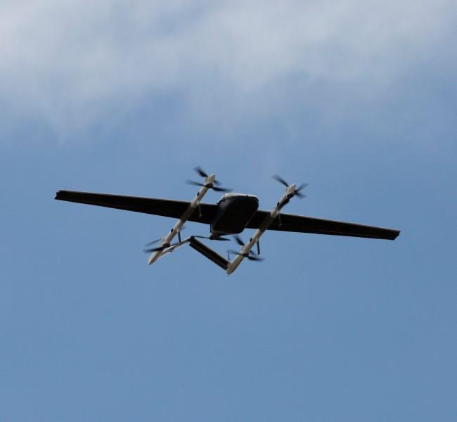 アメリカ海軍 無人機を使った艦船への補給を実験開始
